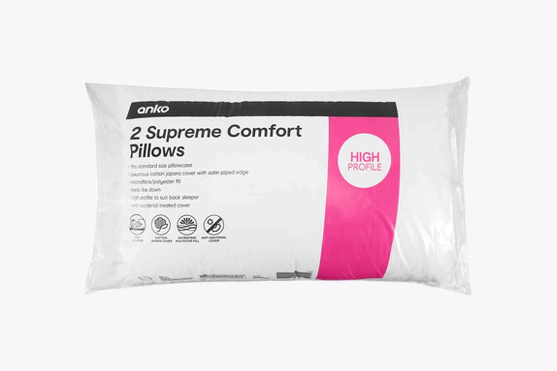 Supreme Comfort pillows