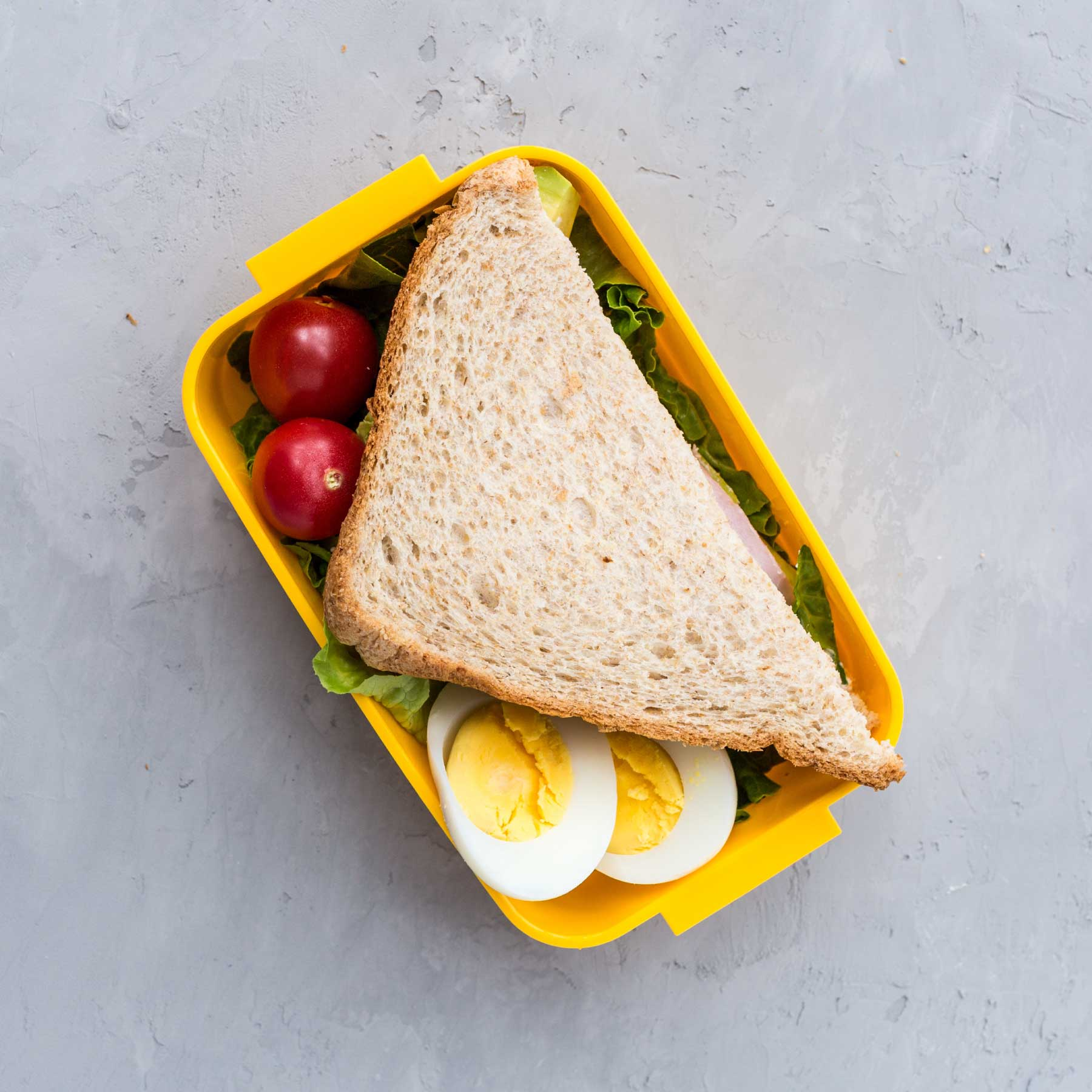 The Best Lunch Box for Non-Squashed Sammies