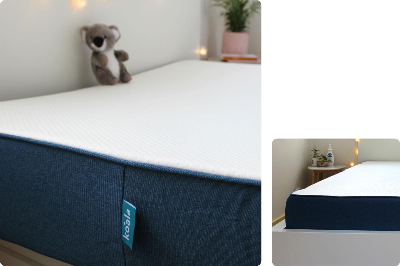 Koala mattress close up