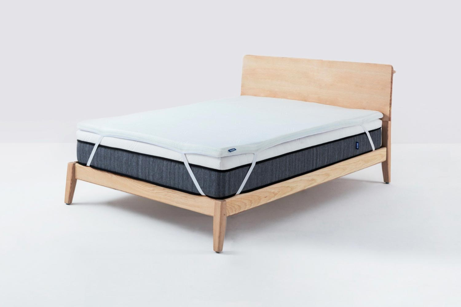 Ecosa topper on bed