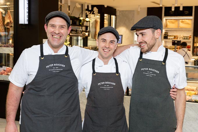 Peter Bouchier team