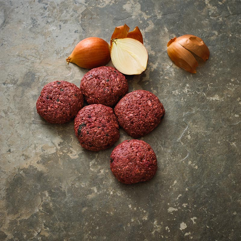 Grass Fed Beef and Beetroot Burgers