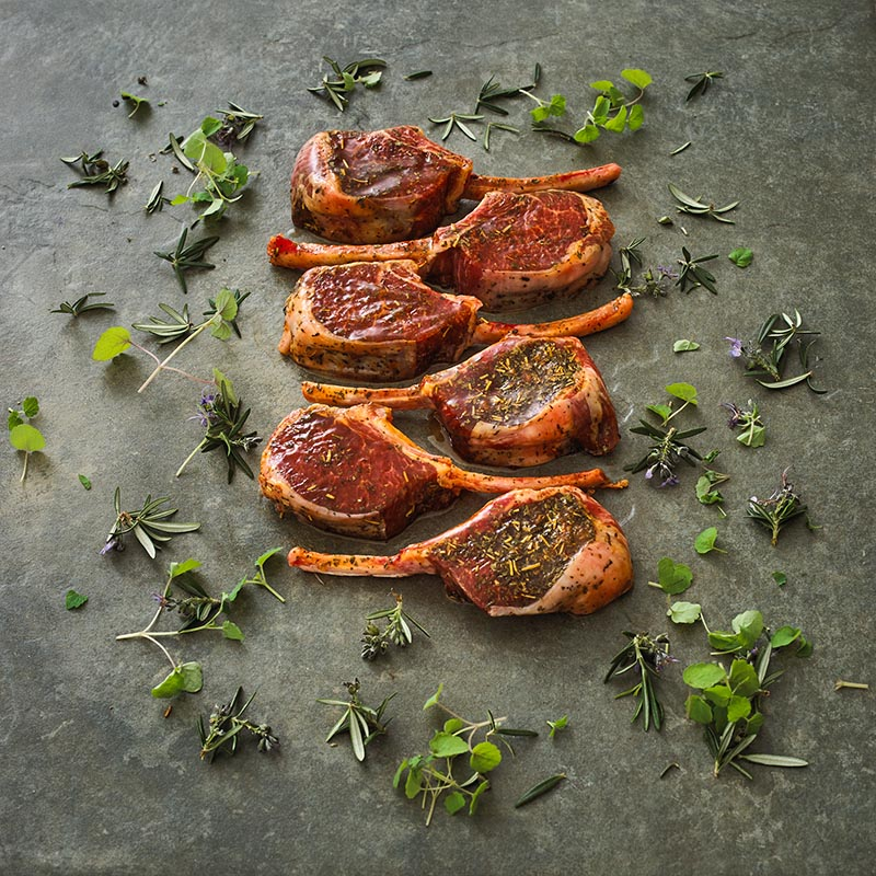 Lamb Cutlet Marinated