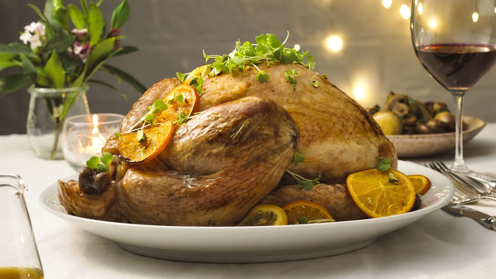 Roasted whole turkey recipe