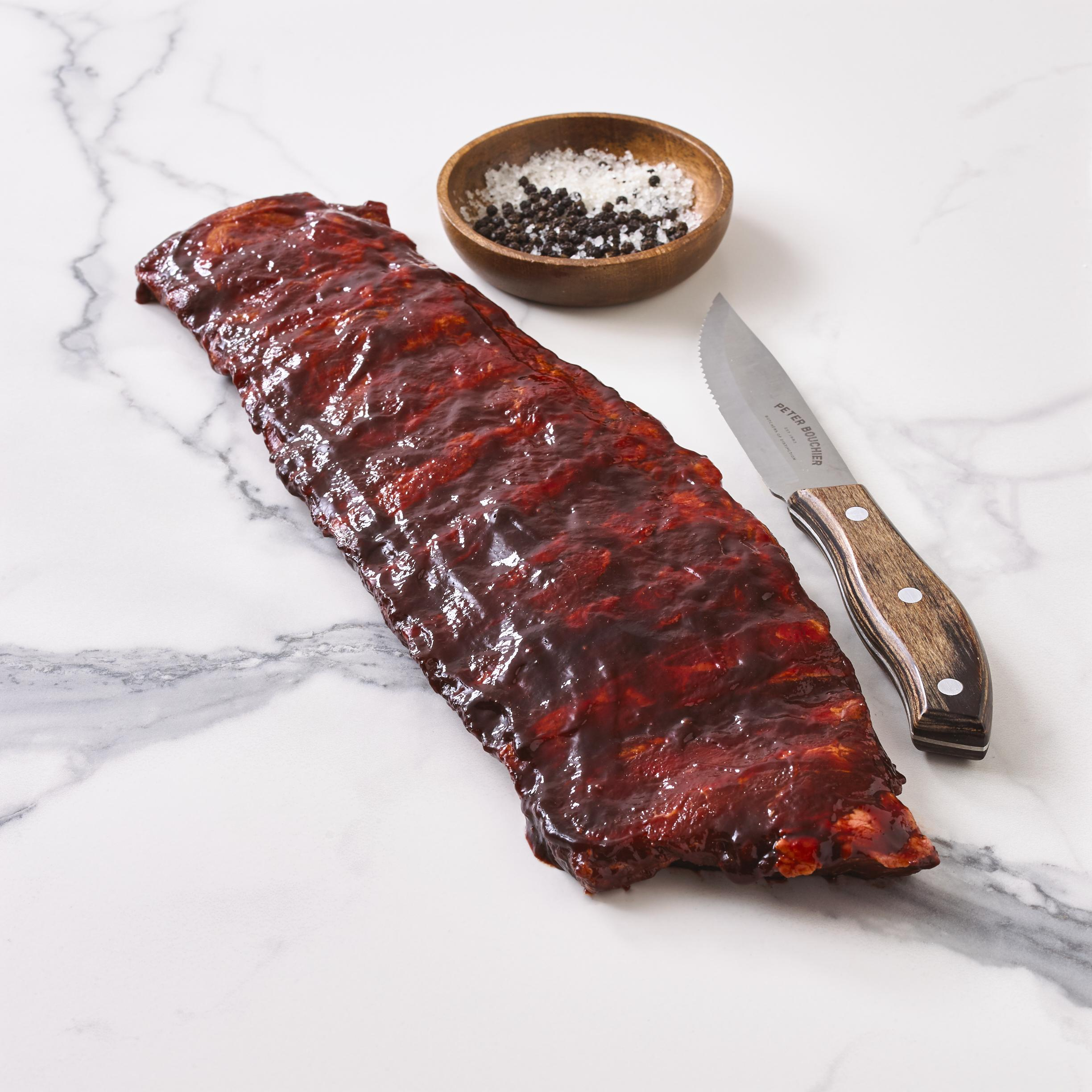 Free Range Pork USA Barbecue Ribs