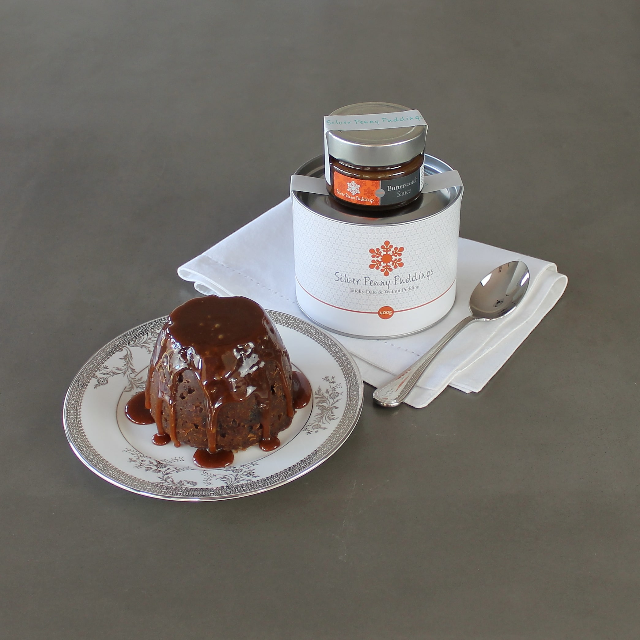 Silver Penny Puddings Sticky Date & Walnut Pudding