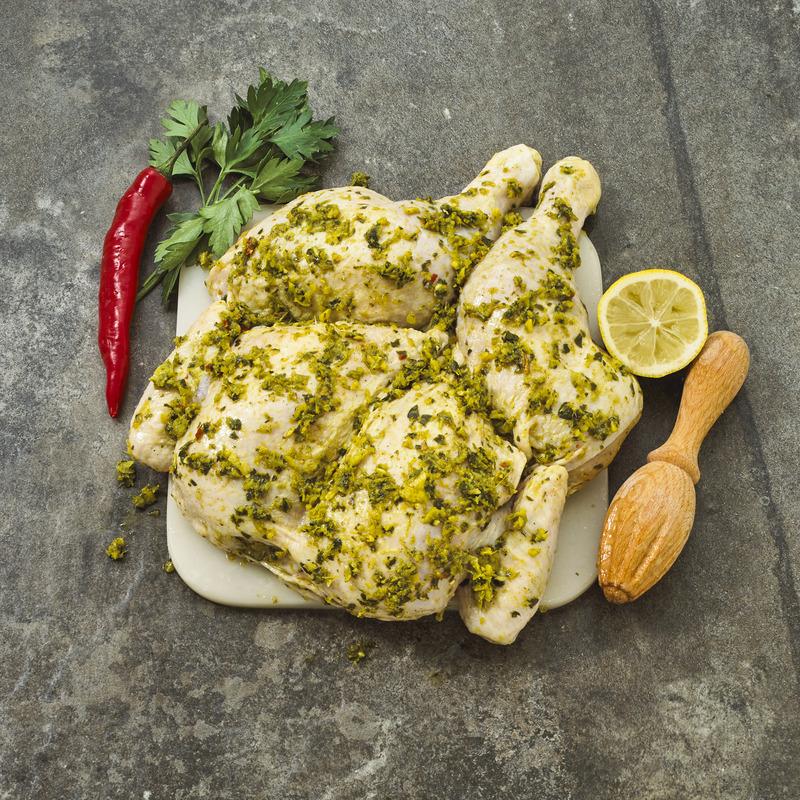 Free Range Butterflied Chicken Chermoula