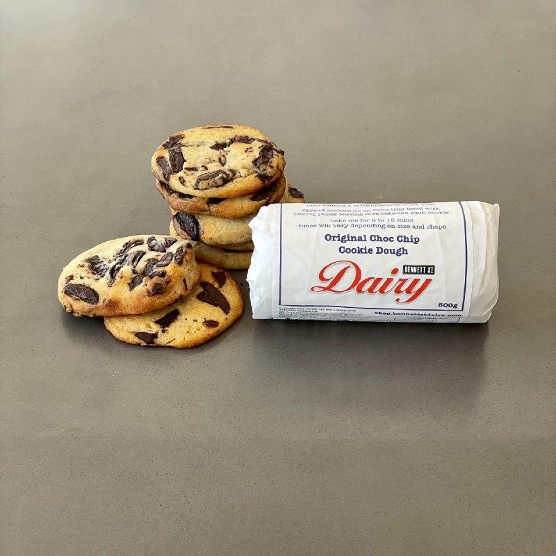 Bennett St. Dairy Choc Chip Cookie Dough