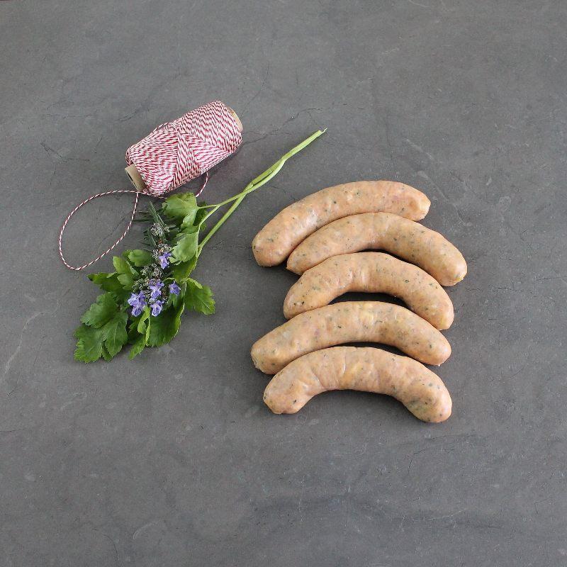 Free Range Chicken and Corn Sausages