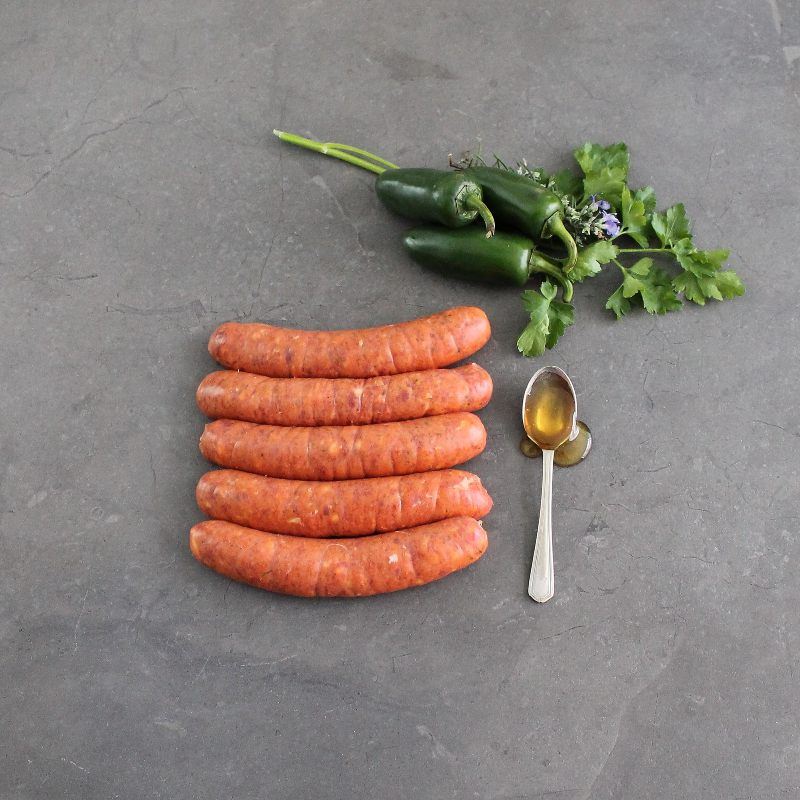 Chipotle and Honey Sausages
