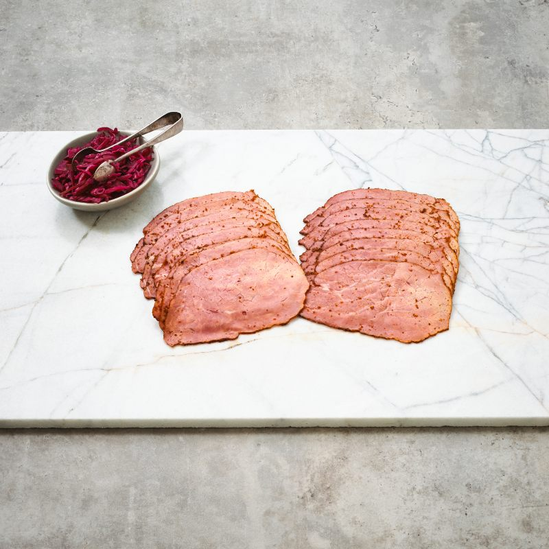 Grass Fed Beef Pastrami Sliced Packet