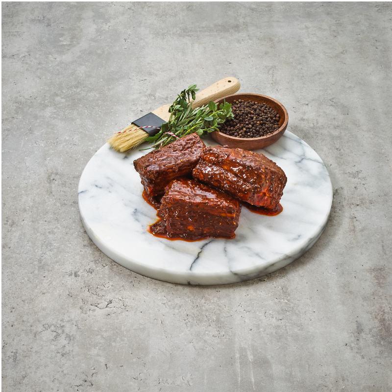 Grass Fed Beef Short Ribs Hickory & Peppercorn