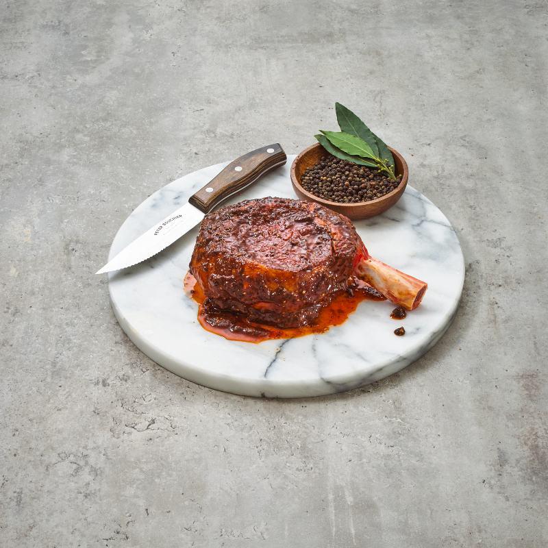 Grass Fed Beef Rib Eye Steak Hickory & Peppercorn