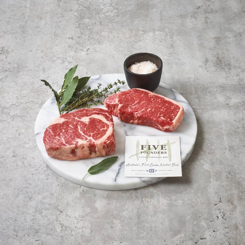 Five Founders Carbon Neutral Beef Porterhouse Steak