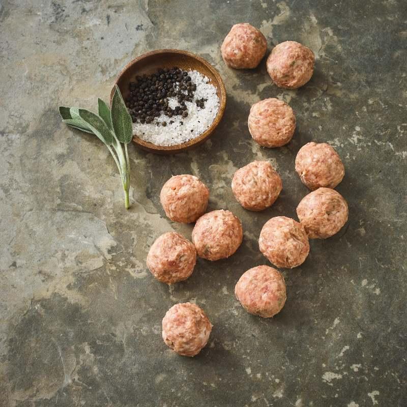 Free Range Pork and Fennel Meatballs