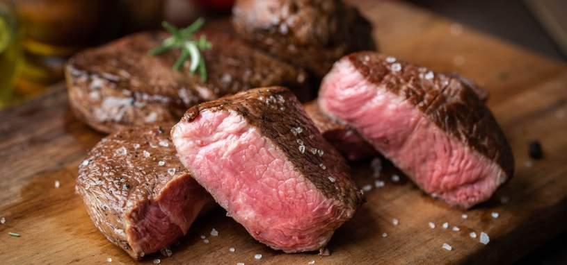 grilled tenderloin beef steak