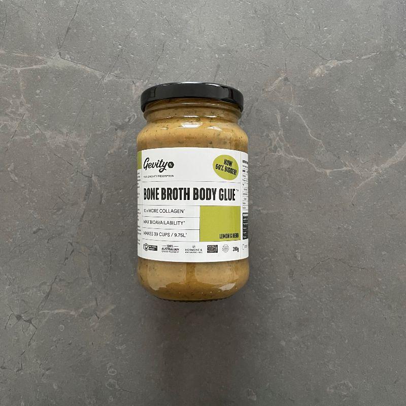Gevity Rx Bone Broth Body Glue Lemon & Herb