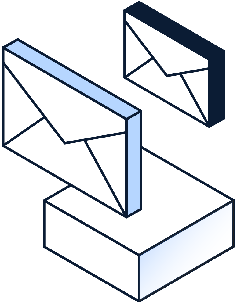 Email success message icon