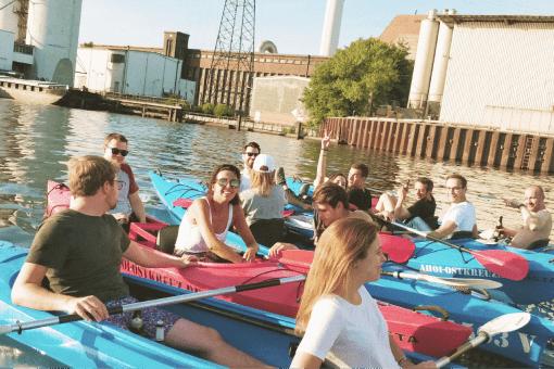 Kayak Team Event