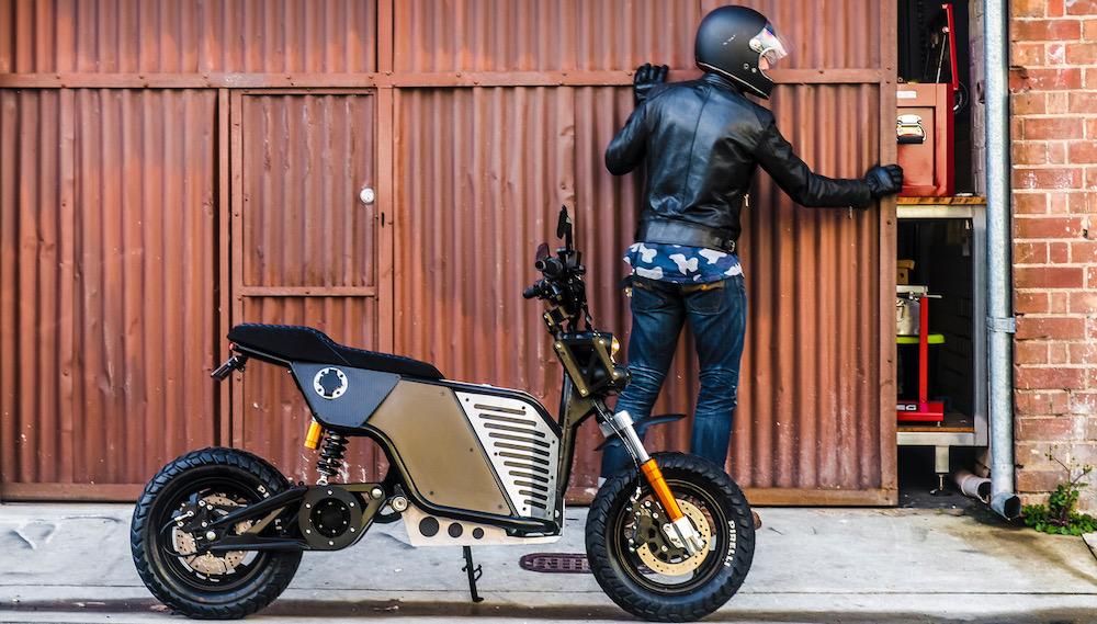 NKD electric motorbike design elements