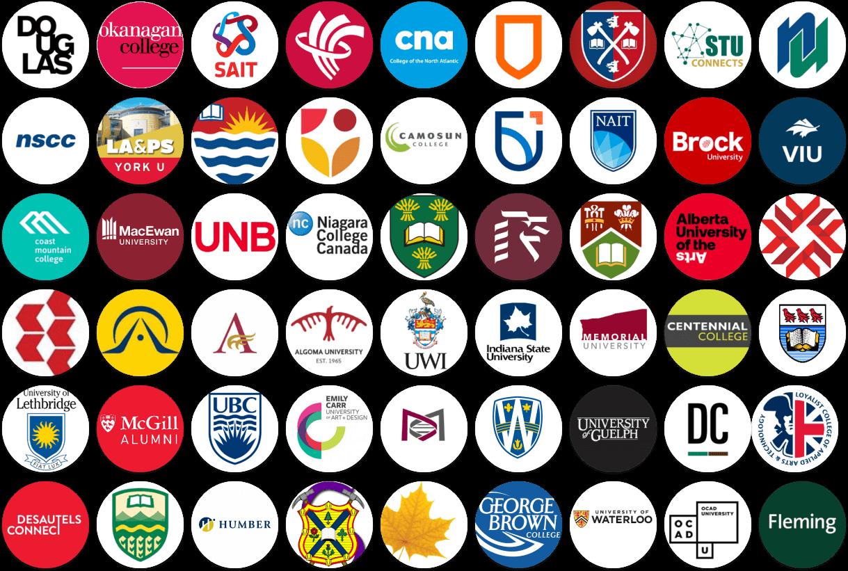 Ten Thousand Coffees school partner logos