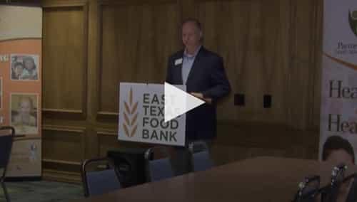 ETX Food Bank partnership