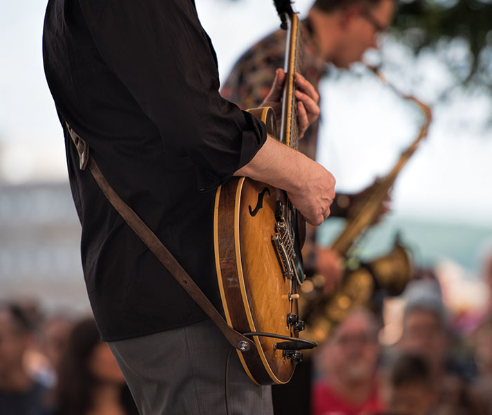 Sing along to the music at the Summer Breeze Concert Series!