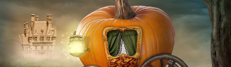 Картинка карета из тыквы из сказки