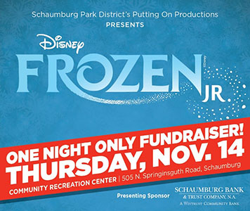 Enjoy the magic of Disney Frozen Jr. during a special fundraiser!