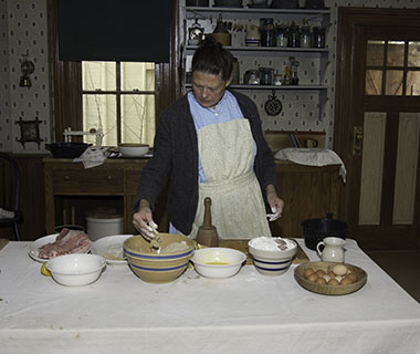 Learn about historical meat preservation at Heritage Farm!