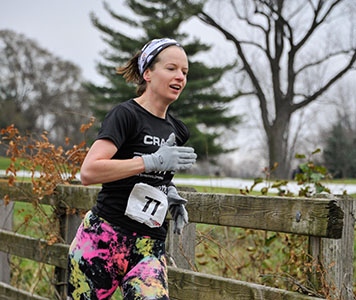 Warm up with a 5K run!