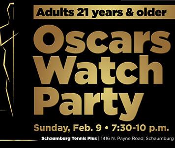 Lights, camera…Oscars Watch Party!