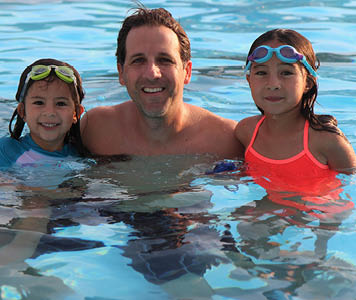 Dads Swim for Free on Father's Day!