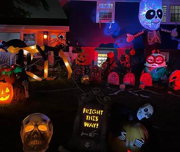 Halloween House Decorating Contest 2021