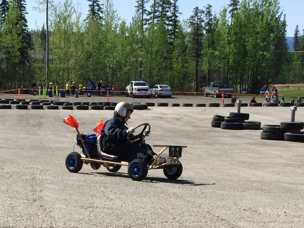 Tumbler Ridge High School Go Kart Competition