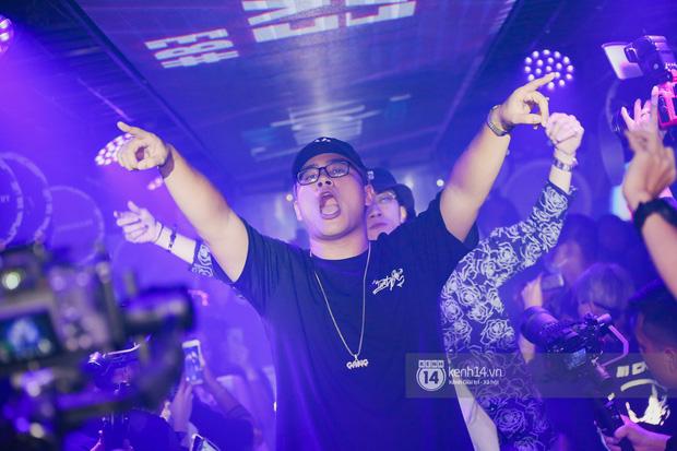 1 ngày sau khi bị loại, Binz rủ rê 16 Typh cùng rap Bigcityboi trên sân khấu, nguyên dàn thí sinh Rap Việt bất ngờ đến chung vui! - Ảnh 11.