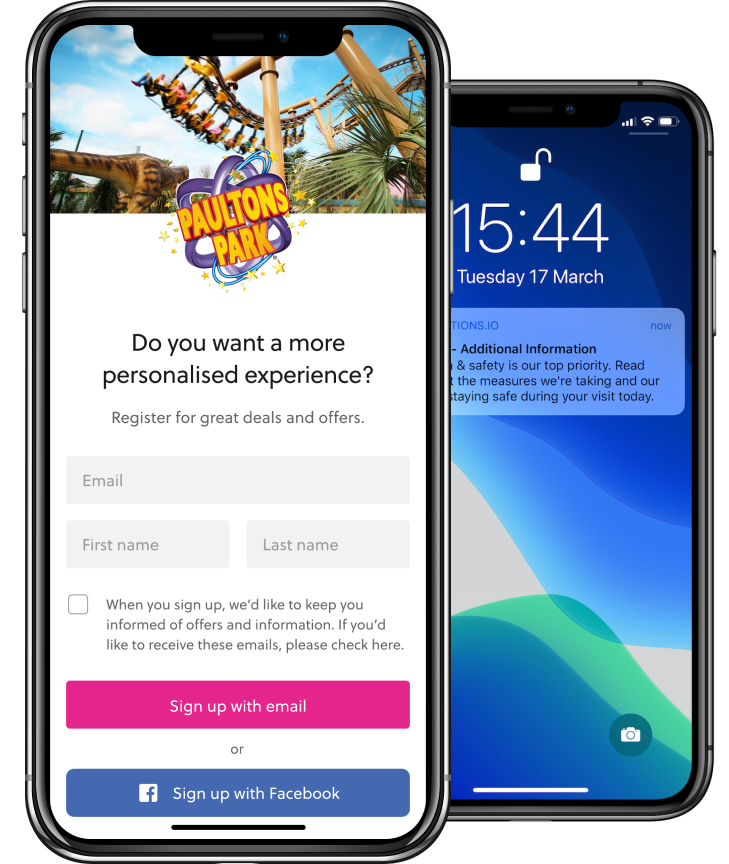 Targeted communication through guest app