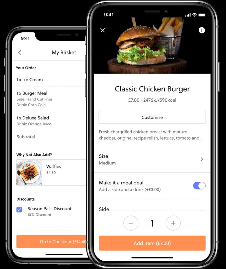 Mobile food ordering