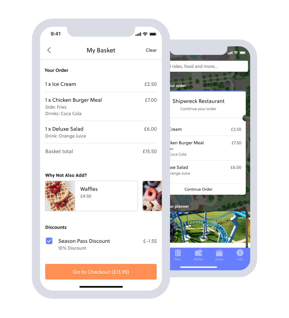 mobile food ordering revenue increase