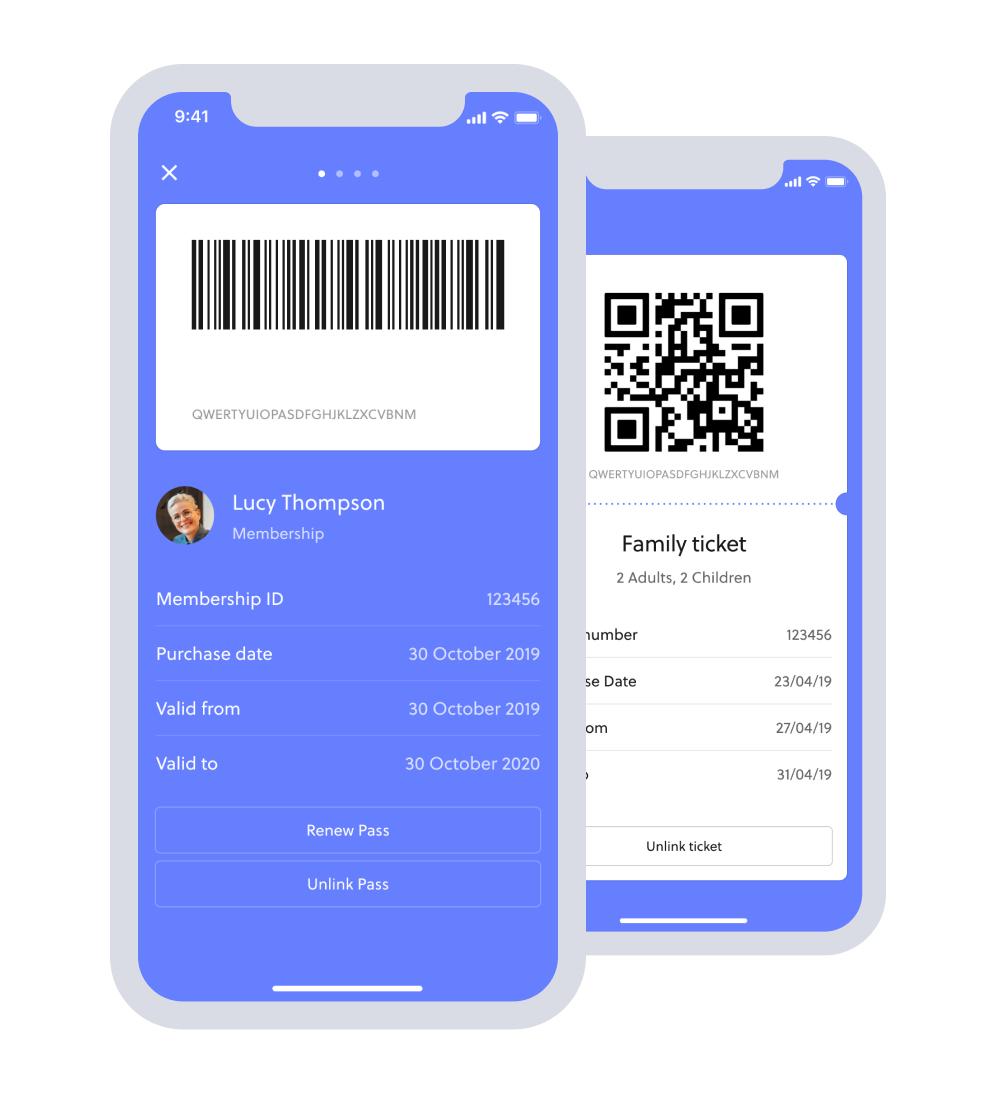 Digital ticketing social distancing venue