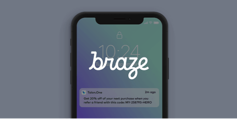 Over 36 Million Coupons Sent with Braze and Talon.One