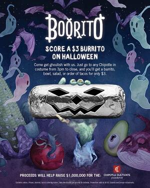 Chipotle Boorito Promotion