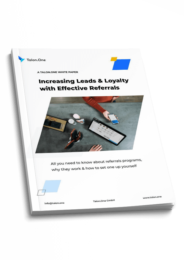 White Paper exploring the benefits of referral campaigns for lead generation and sales
