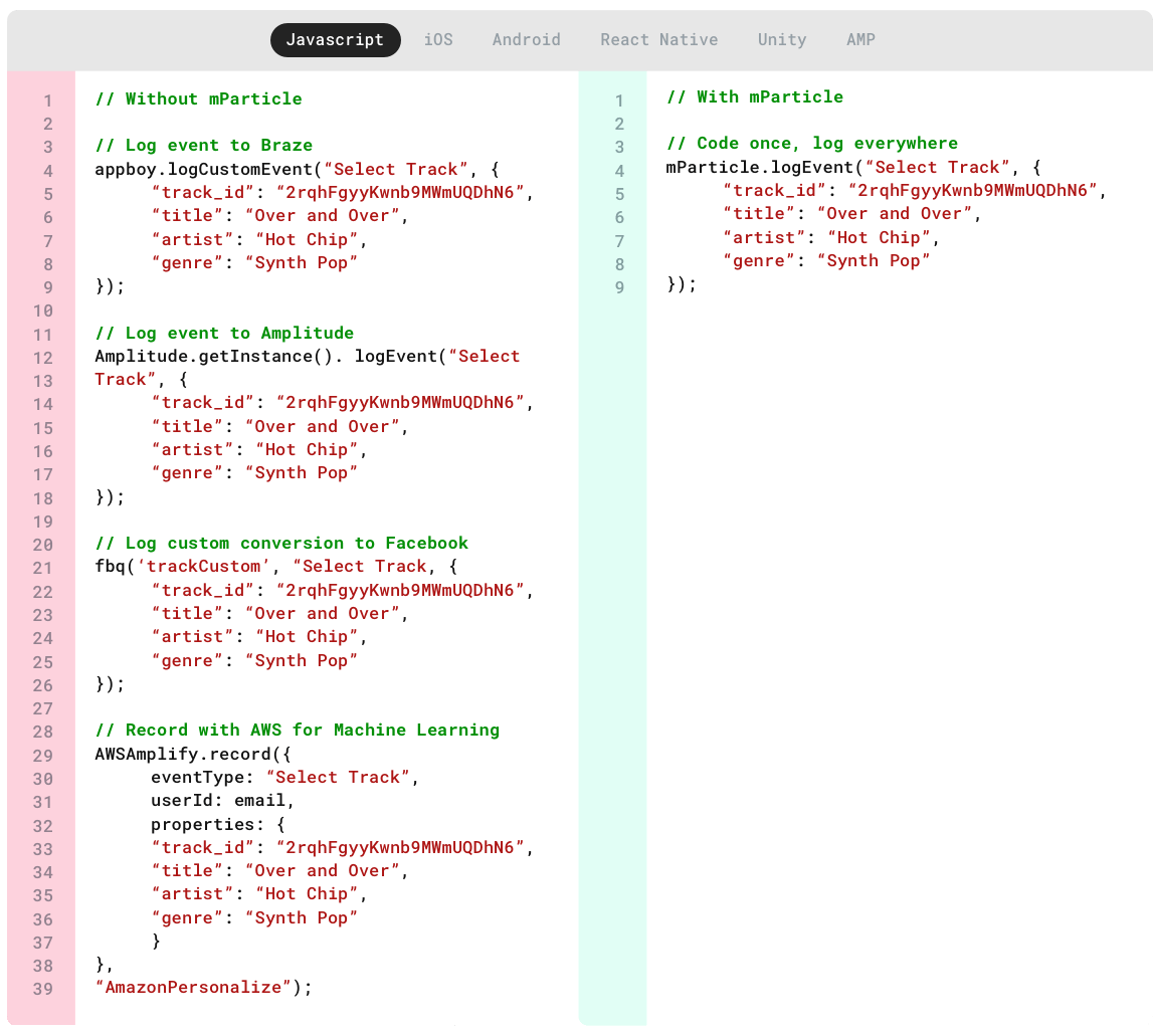 mParticle Cleaner Code