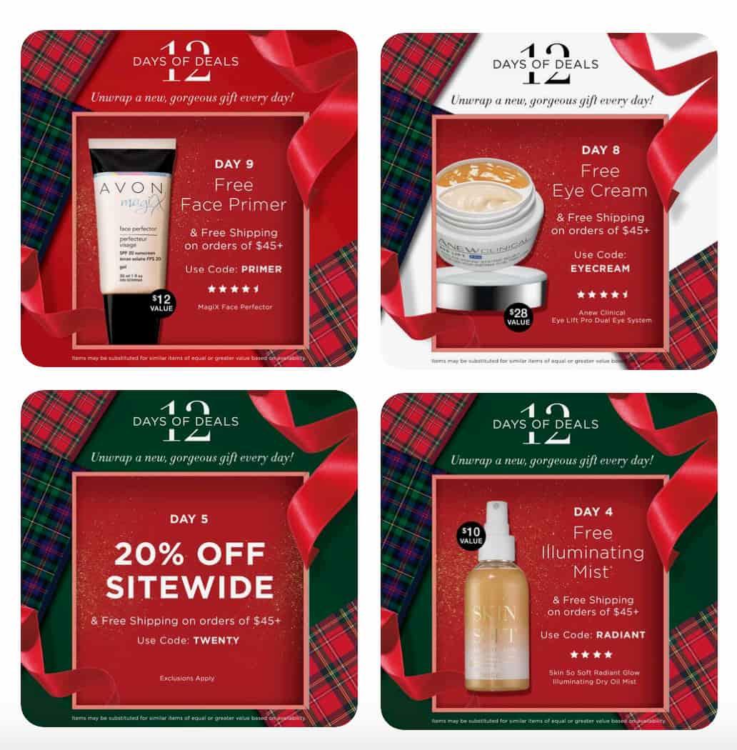 Avon Christmas campaign