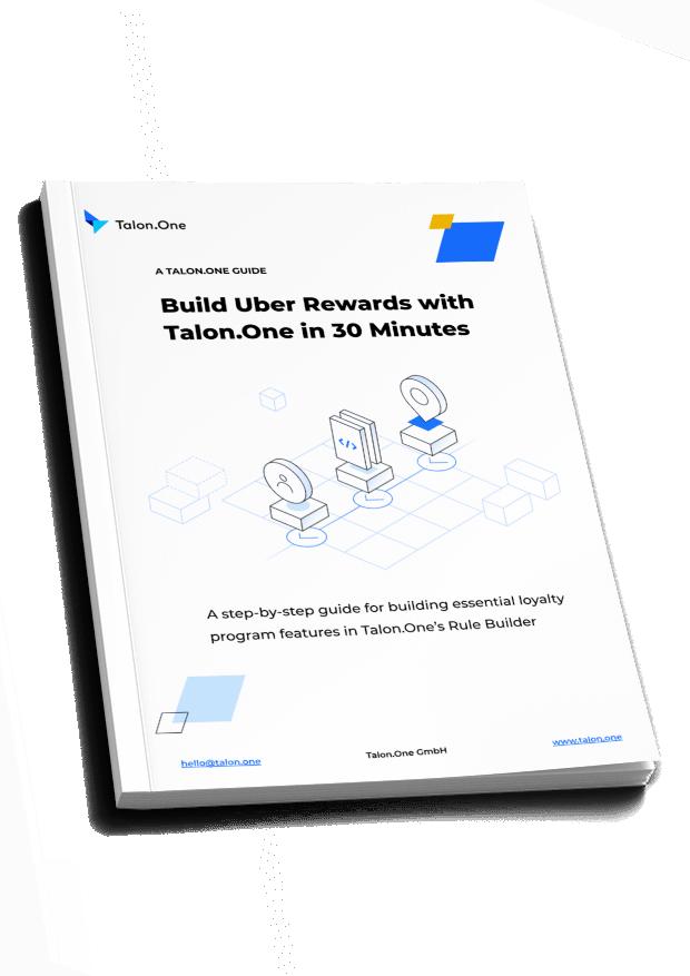 rewards programs to build in Talon.One's Rule Builder