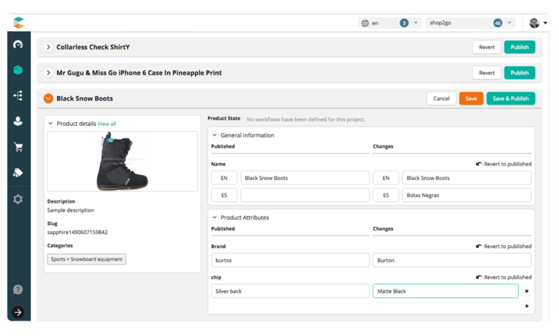commercetools User Interface Analytics