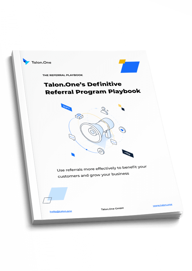 Cover of Talon.One Definitive Referral Program Playbook