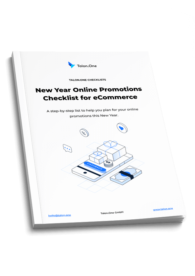 Talon.One's eCommerce promotions checklist for 2020-2021