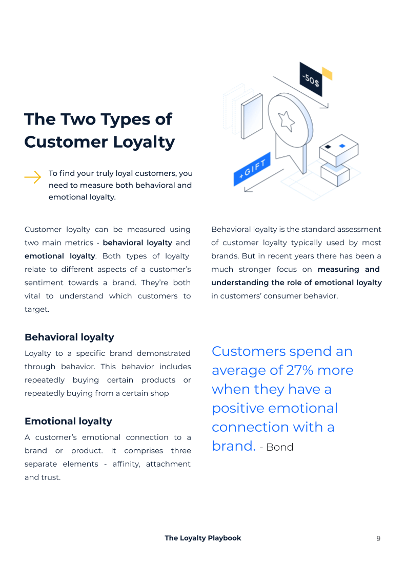 What you'll learn from your Loyalty Playbook